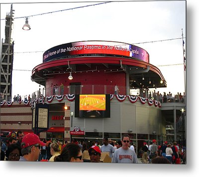 Nationals Park - 01131 Metal Print by DC Photographer