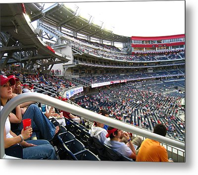 Nationals Park - 01133 Metal Print by DC Photographer