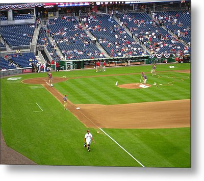 Nationals Park - 01136 Metal Print by DC Photographer
