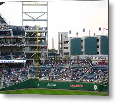Nationals Park - 01137 Metal Print by DC Photographer