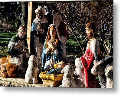 Nativity Metal Print by Bill Cannon