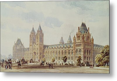 Natural History Museum  Metal Print by Alfred Waterhouse