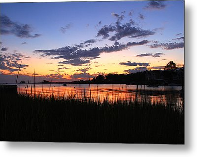 Nature In Connecticut Metal Print by Mark Ashkenazi