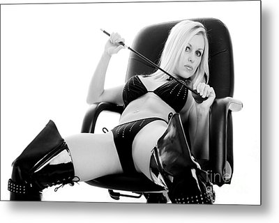 Naughty Girl Metal Print by Jt PhotoDesign
