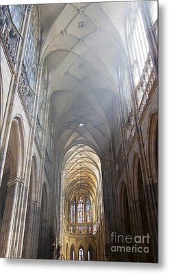 Nave Of The Cathedral Metal Print by Michal Boubin