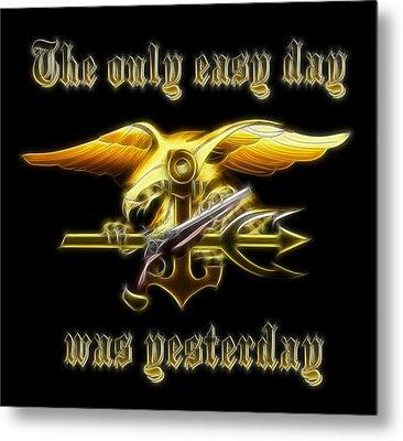 Navy Seals Metal Print by Ricky Barnard
