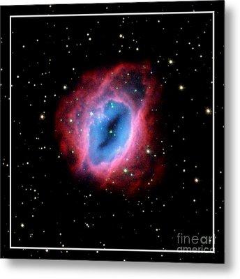 Nebula And Stars Nasa Metal Print by Rose Santuci-Sofranko