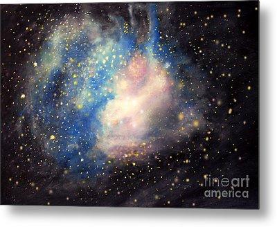 Nebula Ngc 346 Metal Print by Allison Ashton