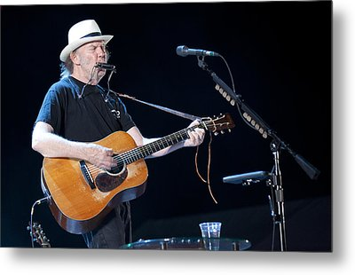 Neil Young Metal Print by Shawn Everhart
