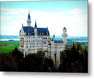 Neuschwanstein Castle  Metal Print by The Creative Minds Art and Photography