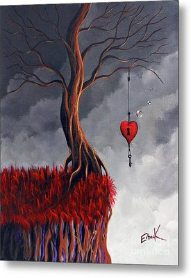 Never Letting Go Metal Print by Shawna Erback