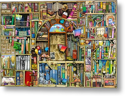 Neverending Stories Metal Print by Colin Thompson