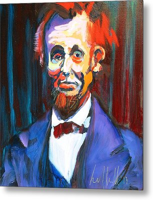 New Abe Metal Print by Les Leffingwell