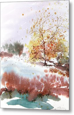 New England Landscape No.219 Metal Print by Sumiyo Toribe