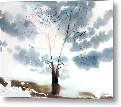 New England Landscape No.220 Metal Print by Sumiyo Toribe