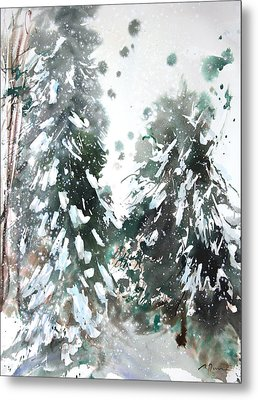 New England Landscape No.223 Metal Print by Sumiyo Toribe