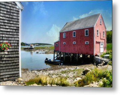New England's  Maine Metal Print by Diana Angstadt