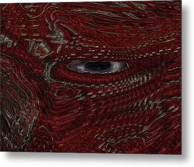 New Guy In Town Metal Print by Jack Zulli