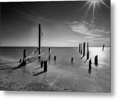 New Horizon Metal Print by Johnny Lam