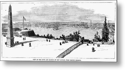 New London, Connecticut Metal Print by Granger