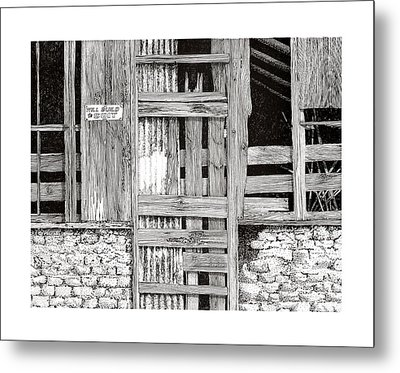 Will Build To Suit New Mexico Doors Metal Print by Jack Pumphrey