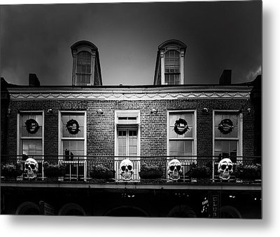 New Orleans- A Skull Paradise Metal Print by Christine Till