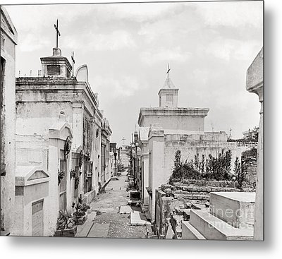 New Orleans: Cemetery Metal Print by Granger