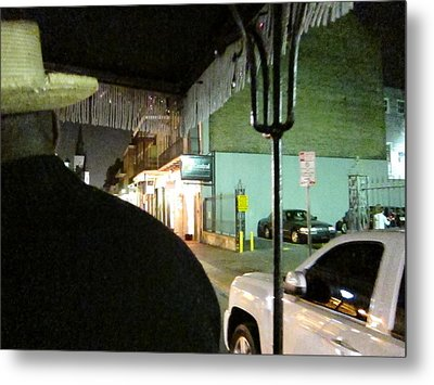 New Orleans - City At Night - 121214 Metal Print by DC Photographer