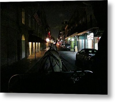 New Orleans - City At Night - 12129 Metal Print by DC Photographer