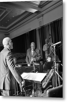 New Orleans Jazz Orchestra Metal Print by William Morgan
