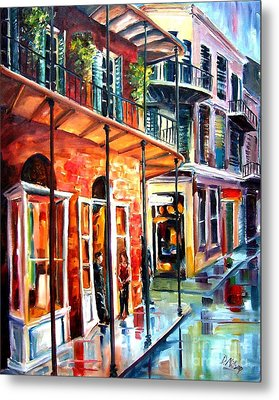 New Orleans Rainy Day Metal Print by Diane Millsap