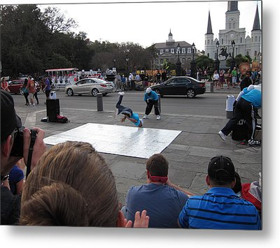 New Orleans - Street Performers - 121221 Metal Print by DC Photographer