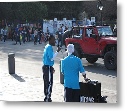 New Orleans - Street Performers - 12125 Metal Print by DC Photographer