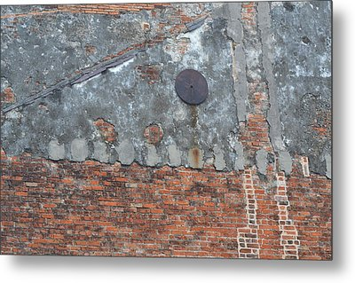 New Orleans Wall Metal Print by Bill Mock