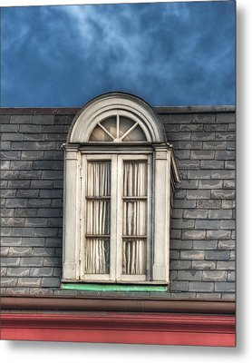 New Orleans Window Metal Print by Brenda Bryant