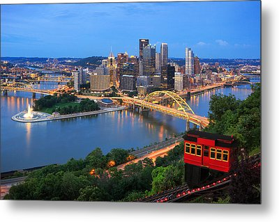 Pittsburgh Summer  Metal Print by Emmanuel Panagiotakis