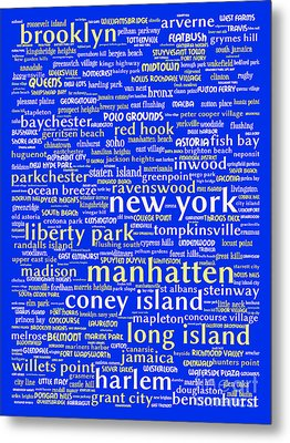 New York 20130709 Metal Print by Wingsdomain Art and Photography