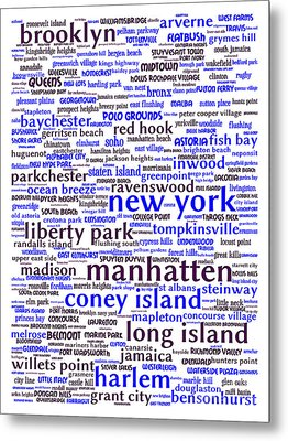 New York 20130709whi Metal Print by Wingsdomain Art and Photography