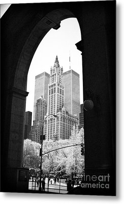 New York Arches 1990s Metal Print by John Rizzuto