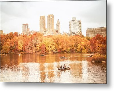New York City - Autumn - Central Park Metal Print by Vivienne Gucwa