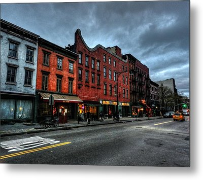 New York City - Greenwich Village 016 Metal Print by Lance Vaughn