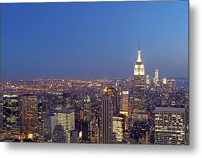 New York City Metal Print by Juergen Roth