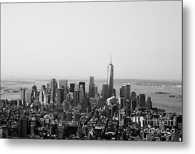 New York City Metal Print by Linda Woods