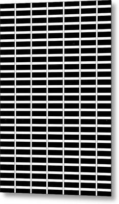 New York City Patterns Metal Print by Az Jackson