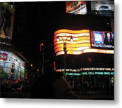 New York City - Times Square - 12127 Metal Print by DC Photographer