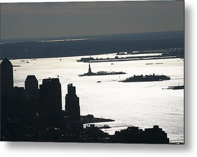 New York City - View From Empire State Building - 121227 Metal Print by DC Photographer