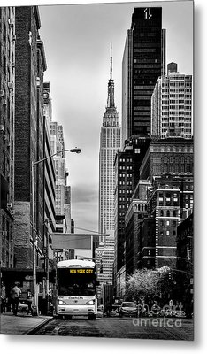 New York Express Metal Print by Az Jackson