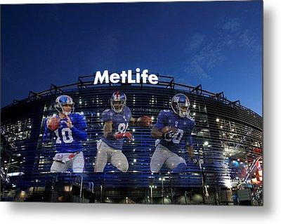 New York Giants Metlife Stadium Metal Print by Joe Hamilton