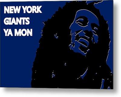 New York Giants Ya Mon Metal Print by Joe Hamilton