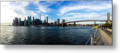New York Skyline - Color Metal Print by Nicklas Gustafsson